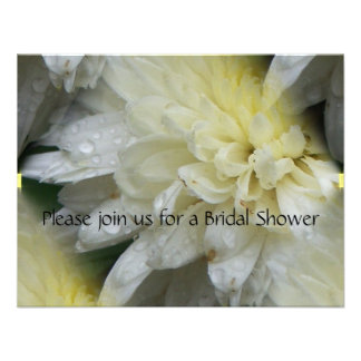 wedding flowers personalized invitation