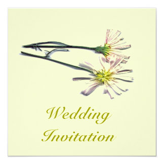 WEDDING FLOWERS INVITATION