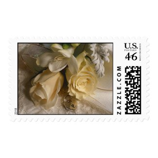 Wedding Flowers postage stamps stamp