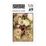 Wedding Flowers Postage Stamps