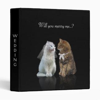 Wedding for cat lovers binder