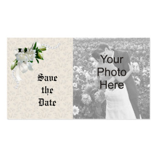 Wedding Gardenias Business Card