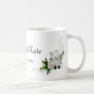 Wedding Gardenias Coffee Mug