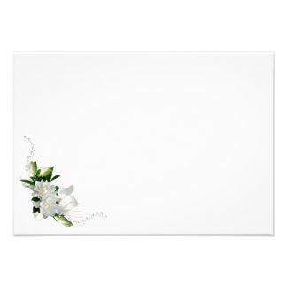 Wedding Gardenias Custom Invite