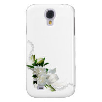 Wedding Gardenias Galaxy S4 Case