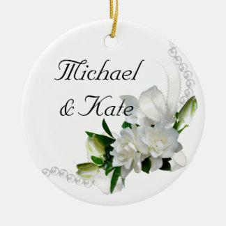 Wedding Gardenias Ornament