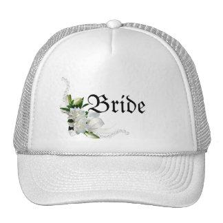Wedding Gardenias Trucker Hat
