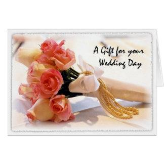Wedding Gift Card