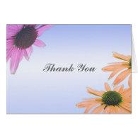wedding gift, daisy flowers, thank you, etc. greeting card