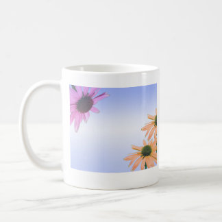 wedding gift, daisy flowers, thank you, etc. coffee mugs