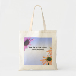 wedding gift, daisy flowers, thank you, etc. tote bag