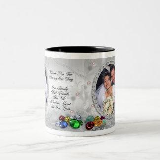 Wedding gift jeweled look  Mug