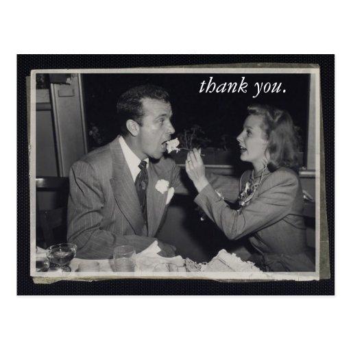 Wedding Gift Thank You Card Customizable Photo Postcard