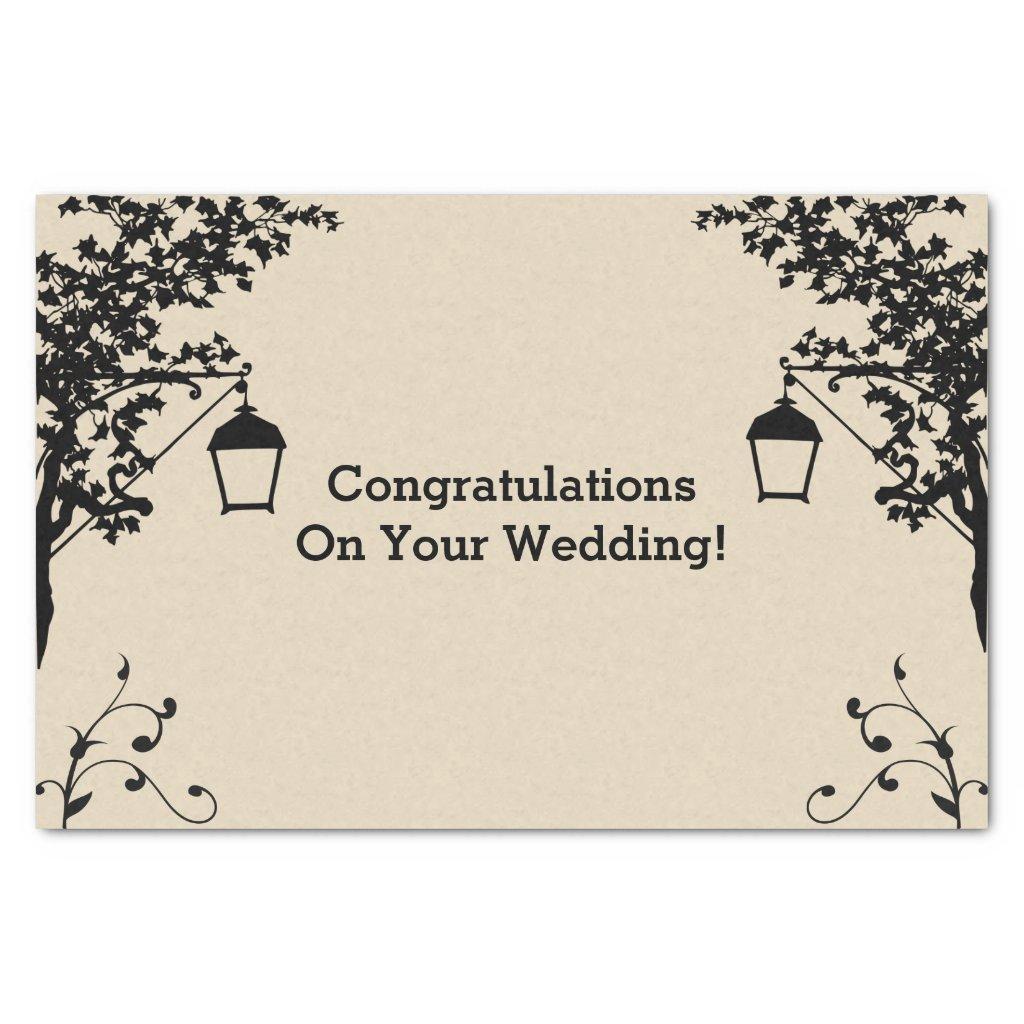 Wedding Gift Tissue Paper