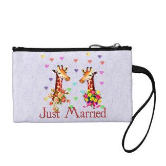 Wedding Giraffes Coin Wallet