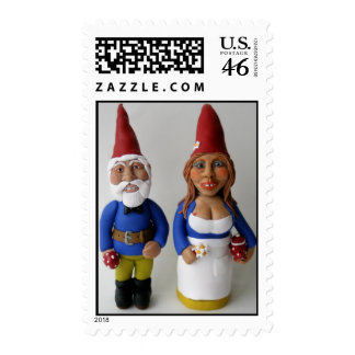 Wedding Gnomes with Mushroom and Teapot Stamps