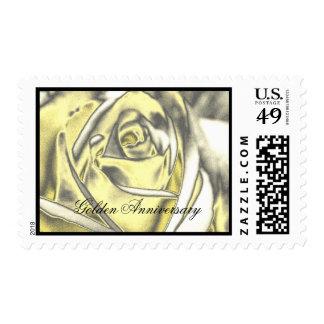 Wedding: Golden Anniversary Postage Stamp