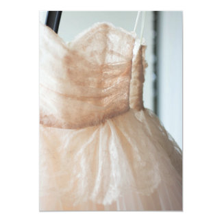 Wedding Gown for Bridal Shower or Thank You Card