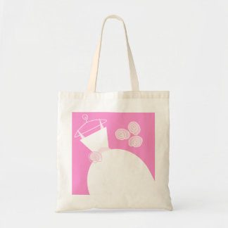 Wedding Gown Pink tote bag