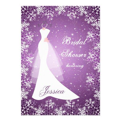personalized snowflakes snowflake invitations custominvitations4u com