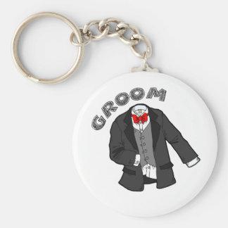 Wedding Groom Keychain