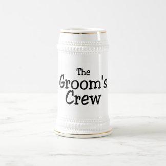 Wedding Grooms Crew Mug