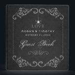 """Wedding Guest Book Binder - Spider Gothic LOVE<br><div class=""""desc"""">Wedding Guest Book Binder - Spider Gothic LOVE  Art &amp; Design by Julie Alvarez</div>"""