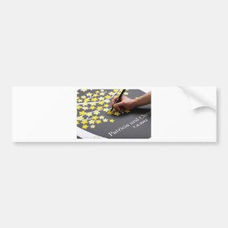Wedding Guest Book Bumper Sticker
