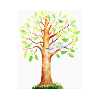 Wedding Guest Signing Tree Canvas