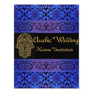 """Wedding*Hamsa Invitación 4.25"""" X 5.5"""""""