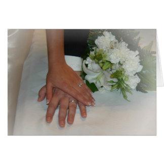 Wedding Hands Card