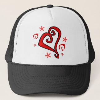 Wedding Heart Trucker Hat