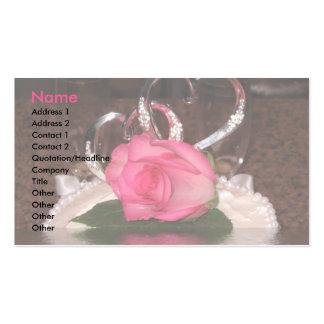 Wedding Hearts Business Card