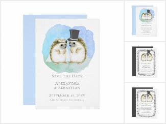 Wedding Hedgehogs