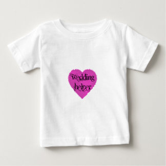 Wedding Helper Baby T-Shirt