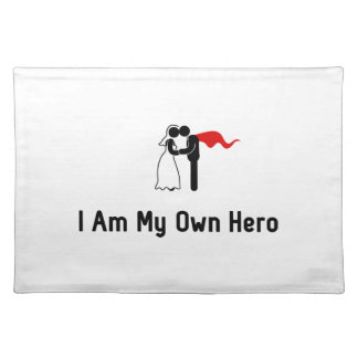 Wedding Hero Cloth Placemat