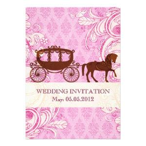 Wedding Horse & Carriage - Wedding Invite
