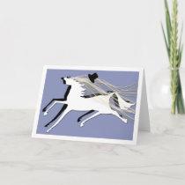 Wedding  Horses Card