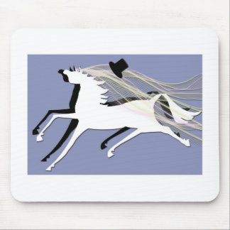 Wedding  Horses Mouse Pad