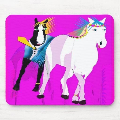 Wedding Horses Mousepad