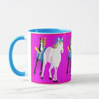 Wedding Horses Mug