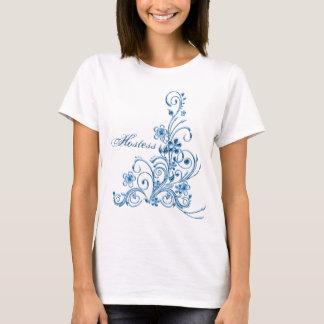 Wedding Hostess T-Shirt: Sky Blue Elegance T-Shirt