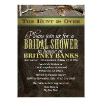 Wedding Hunting Camo Bridal Shower Invitations (<em>$1.85</em>)