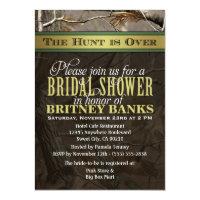 Wedding Hunting Camo Bridal Shower Invitations (<em>$1.96</em>)