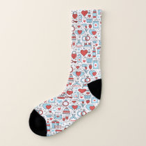 Wedding Icons socks