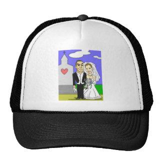 Wedding illustration hat for Elizabeth