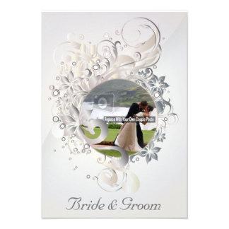 Wedding Image Cameo Invite - 1