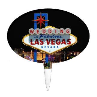 Wedding In Fabulous Las Vegas Cake Pick