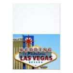 WEDDING In Fabulous Las Vegas Invitations