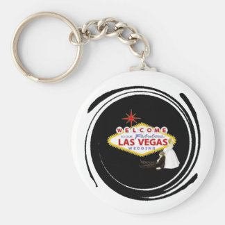 Wedding In Fabulous Las Vegas Keychain